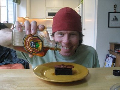 Rock Lobster racer tweaks a Bob's Red Mill brownie