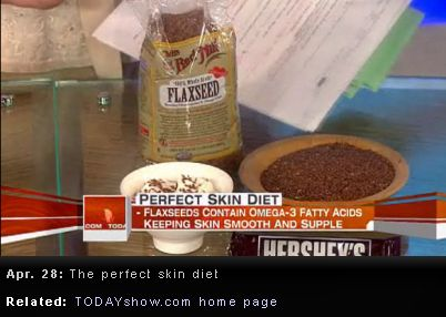 Flaxseeds on Today Show
