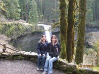 Sisters Lisa and Krista from McMinnville, Oregon