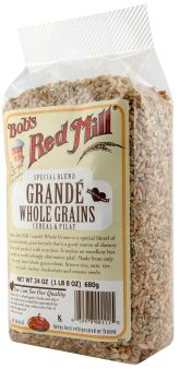 Grande Whole Grains is a hearty blend of whole grains and seeds.