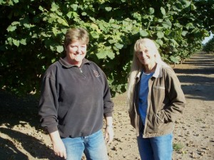 Nancy and Polly were so helpful and happily toured me around the farm.
