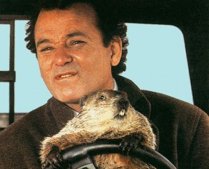 One of my favorite movies... Groundhog Day with Bill Murray.