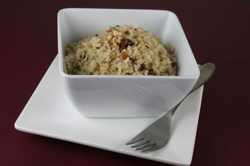 Quinoa Salad by Chef Pascal Sauton is one of our long standing favorite recipes (link below).