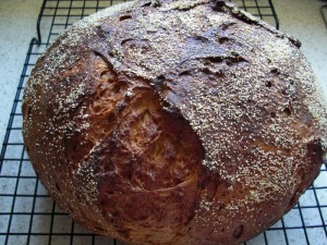 Millet and Amaranth Gluten-Free Artisan Bread