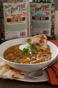 Both of our new soup mixes are 25% off through April.