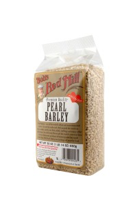 Pearl barley and white rice are the most common pearled grains that we eat.