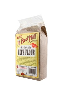 Teff Flour is the smallest grain that we make into flour here at the Mill.