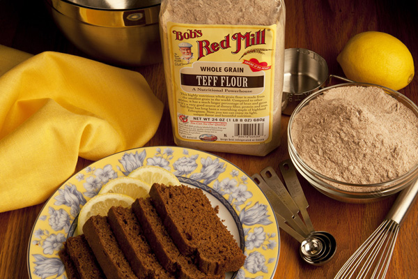 Teff Gingerbread is a delicious way to entertain all your holiday guests.