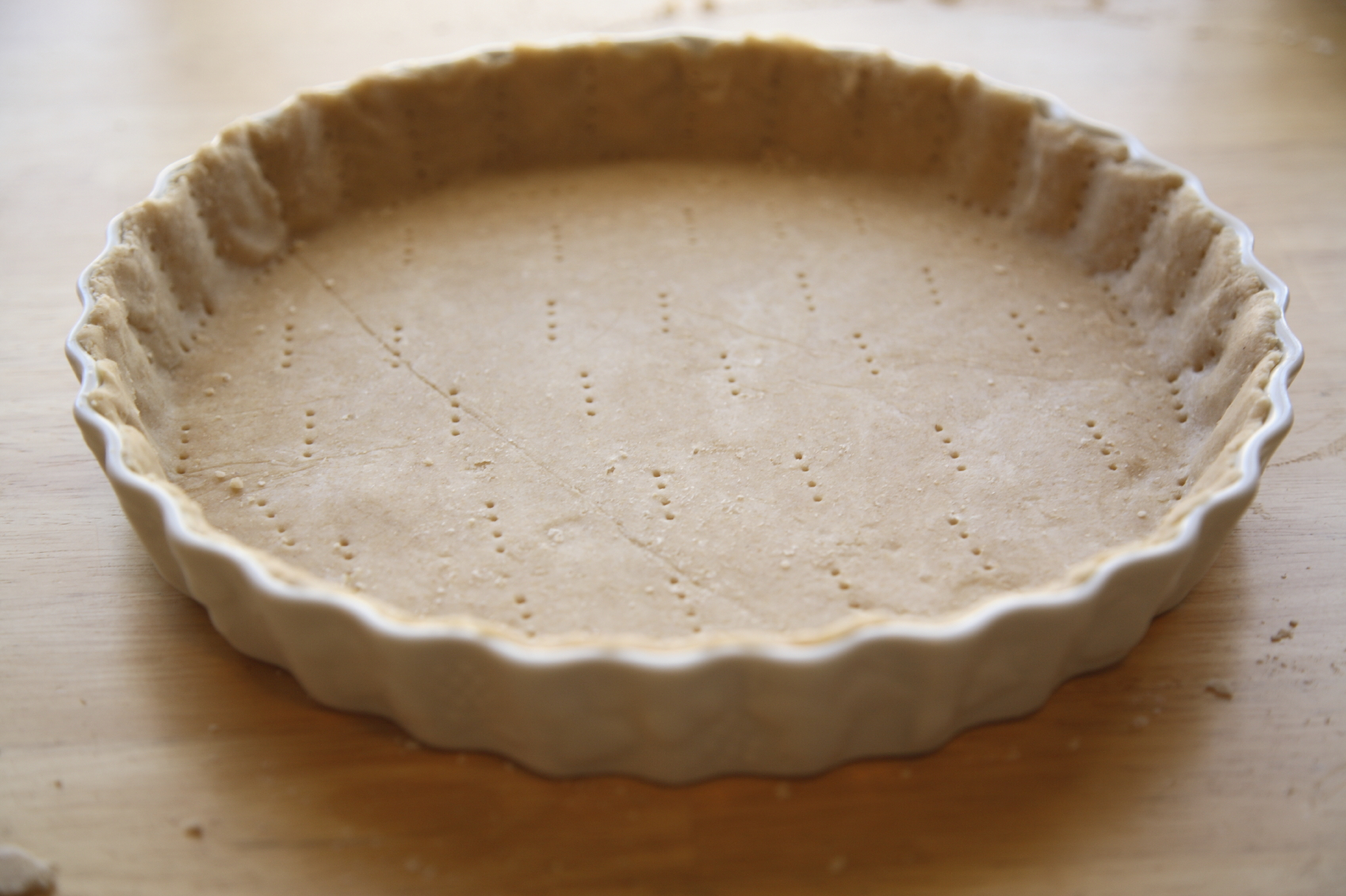 Pie crust doesn't have to look this perfect to taste amazing.