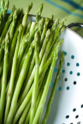 "Almost in season, Asparagus is another wonderful ""green"" to add to your diet."