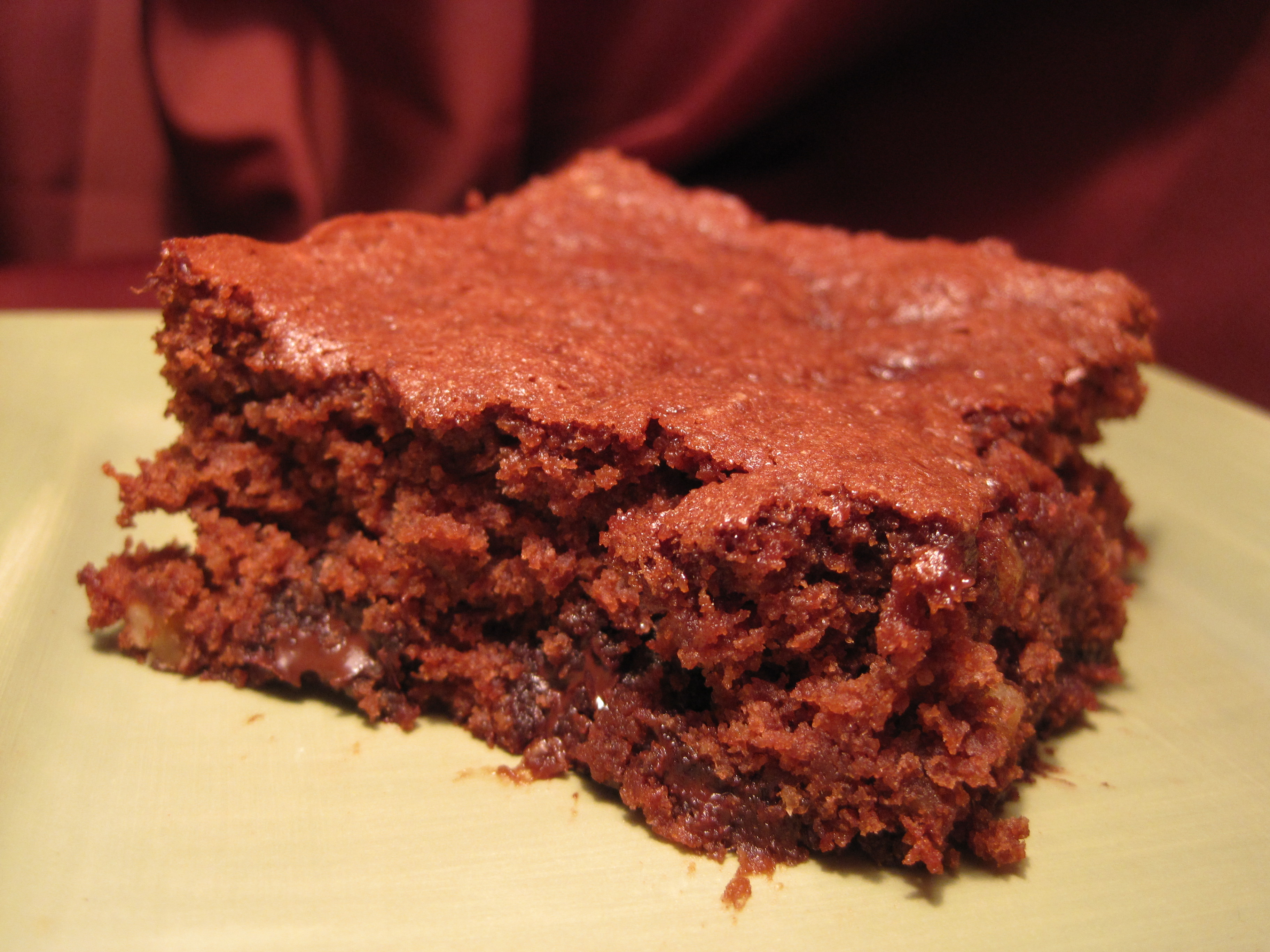 Chocolate Chip Walnut Brownies