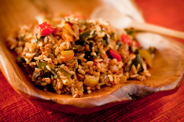 Meatless doesn't mean flavorless! This dish is simply brimming with delicious spices that are guaranteed to make you feel like you're in New Orleans.