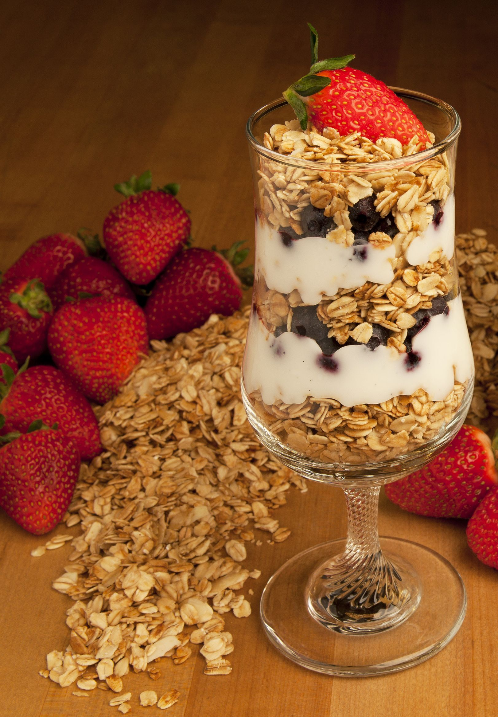 Fruit, Granola and Yogurt Parfait - Bob's Red Mill Blog Bob's Red Mil...