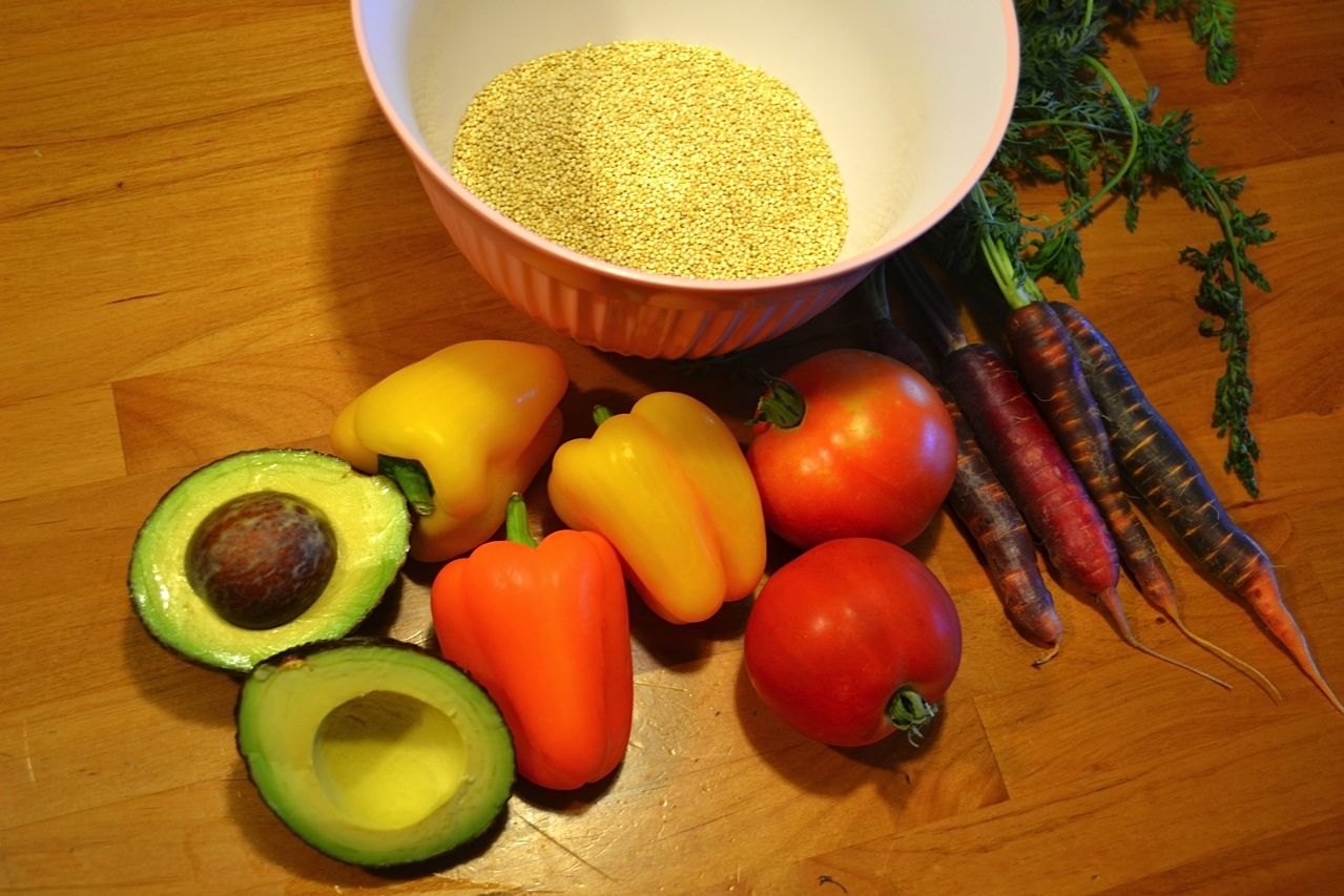 Life:Styled: Quinoa and Mixed Veggie Salad (GF, V) - Bob's Red Mill ...