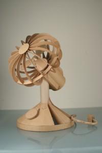A Cardboard Fan