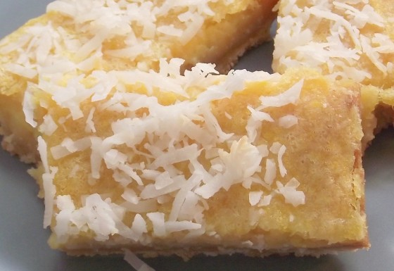 Gluten-Free Coconut Lemon Bars | Bob's Red Mill Blog