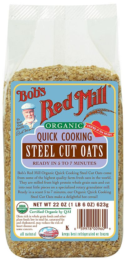 Introducing Quick Cooking Steel Cut Oats Giveaway Bob S Red Mill Blog