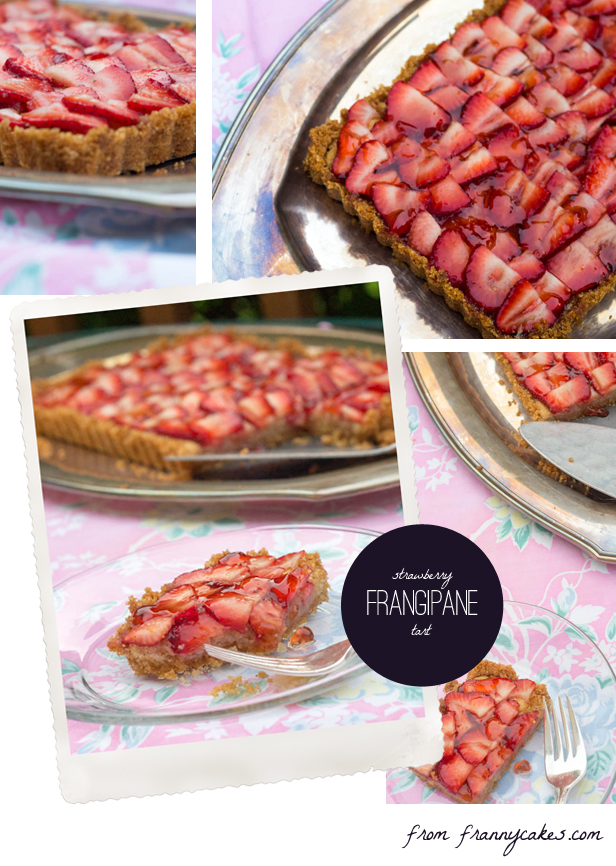: Strawberry Frangipane Tart with Brown Butter Brown Rice Crust (GF ...
