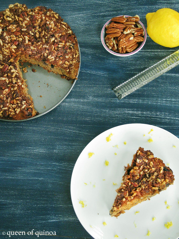 Whole Grain Brunch: Lemon Blueberry Coffee Cake (GF)