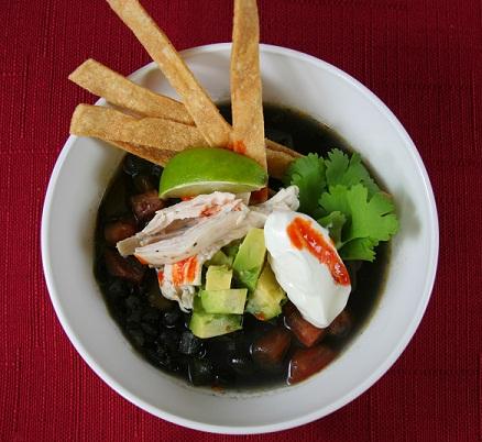 October Soup Celebration! Black Bean Tortilla Soup - Bob's Red Mill ...