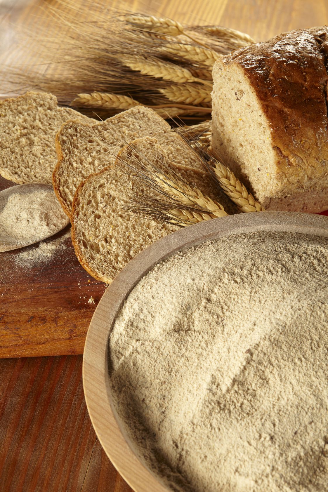 Try our recipe for 100% Stone Ground Whole Wheat Bread or take a shortcut and use our 100% Whole Wheat Bread Mix for delicious, fresh whole grain bread.