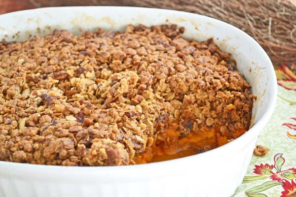 recipe: crumble topping for sweet potato casserole [7]