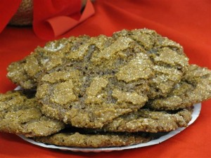 Crispy Ginger Cookies