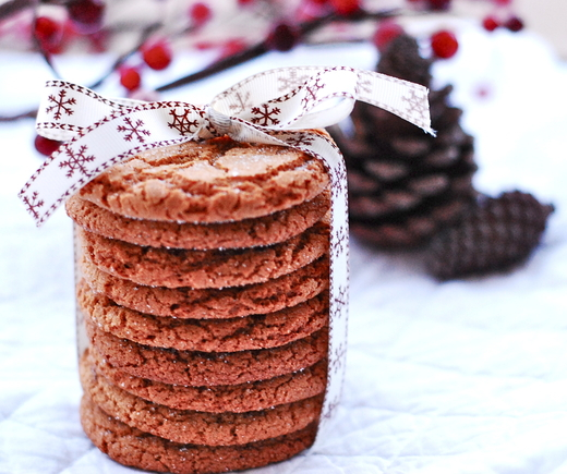 Ginger Spice Cookies - Tiffany McCall