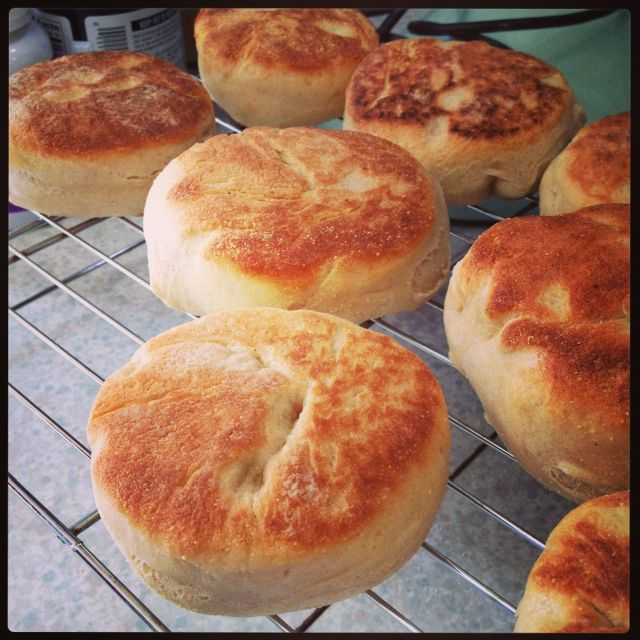 English Muffins Whole Wheat