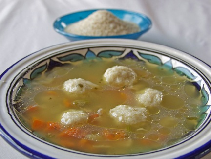 Chicken Soup  Farina Dumplings