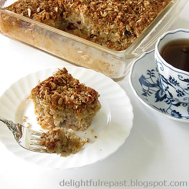 Muesli Morning Cake Gluten-Free:: Jean, Delightful Repast