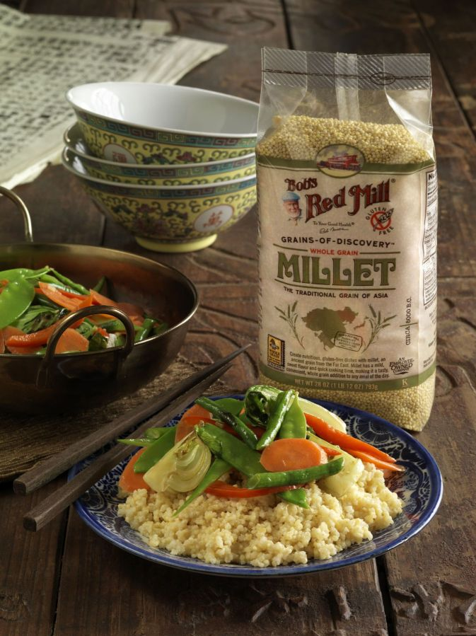 Bob's Red Mill :: Millet Stir Fry