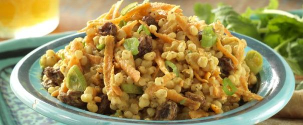 Curried Carrots and Sorghum Salad