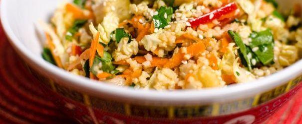 Millet Spring Roll Salad1