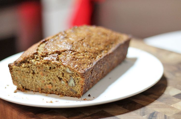 Spiced Carrot Amaranth Bread