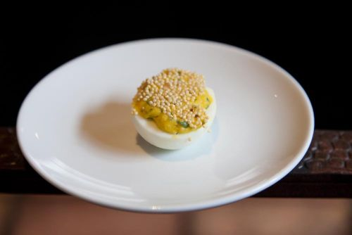 Toasted Egg with Millet
