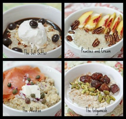 20 Ways to Top Your Oatmeal