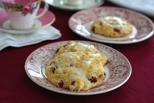 Cranberry Orange Drop Scones | Bob's Red Mill + All Day I Dream About Food