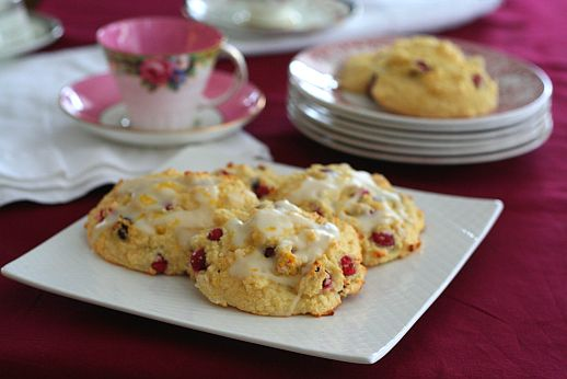 Cranberry Orange Drop Scones | Bob's Red Mill