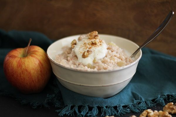 Apple Cinnamon Walnut Brown Rice Farina | Bob's Red Mill