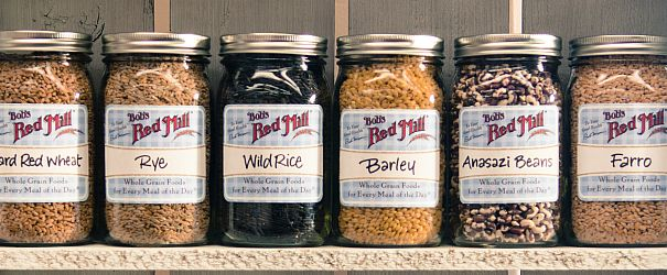 Jars of Grain F