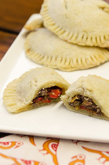 GF Beef Empanadas with Peppers and Onion | Bob's Red Mill