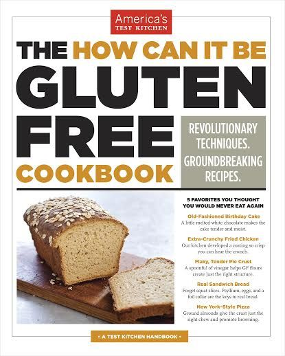 The How Can It Be Gluten-Free Cookbook from America's Test Kitchen {Giveaway}