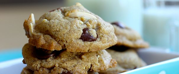 Fisher Whole Wheat Chocolate Almond Cookies F