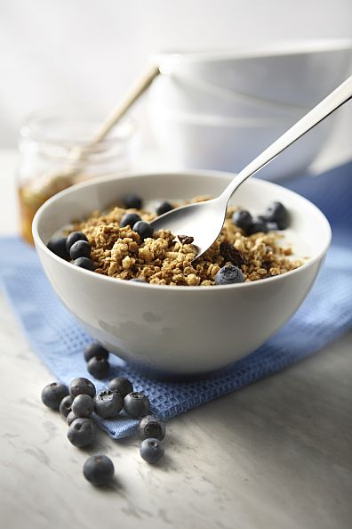 Granola w Blueberries