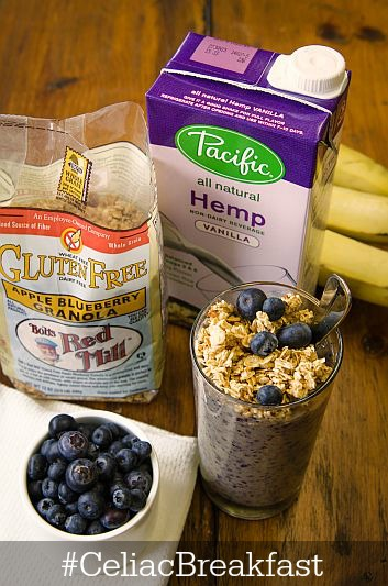 Bob's Red Mill & Pacific Foods bring you #CeliacBreakfast : a match made in GF/DF heaven.