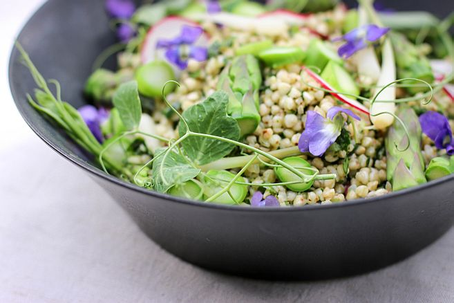 Spring Buckwheat Salad | Bob's Red Mill + The Hungry Hounds