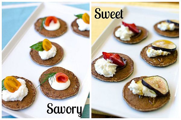 Bite-Size Buckwheat Blinis | Bob's Red Mill