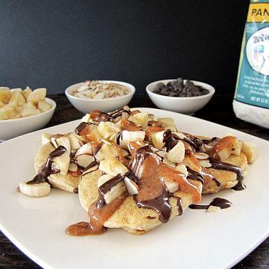 Chunky Monkey Pancakes | Go Dairy Free