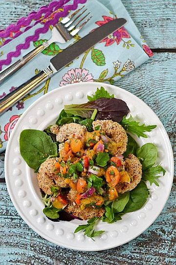 Coconut Hazelnut Shrimp by Cara Lyons for Bobs Red Mill